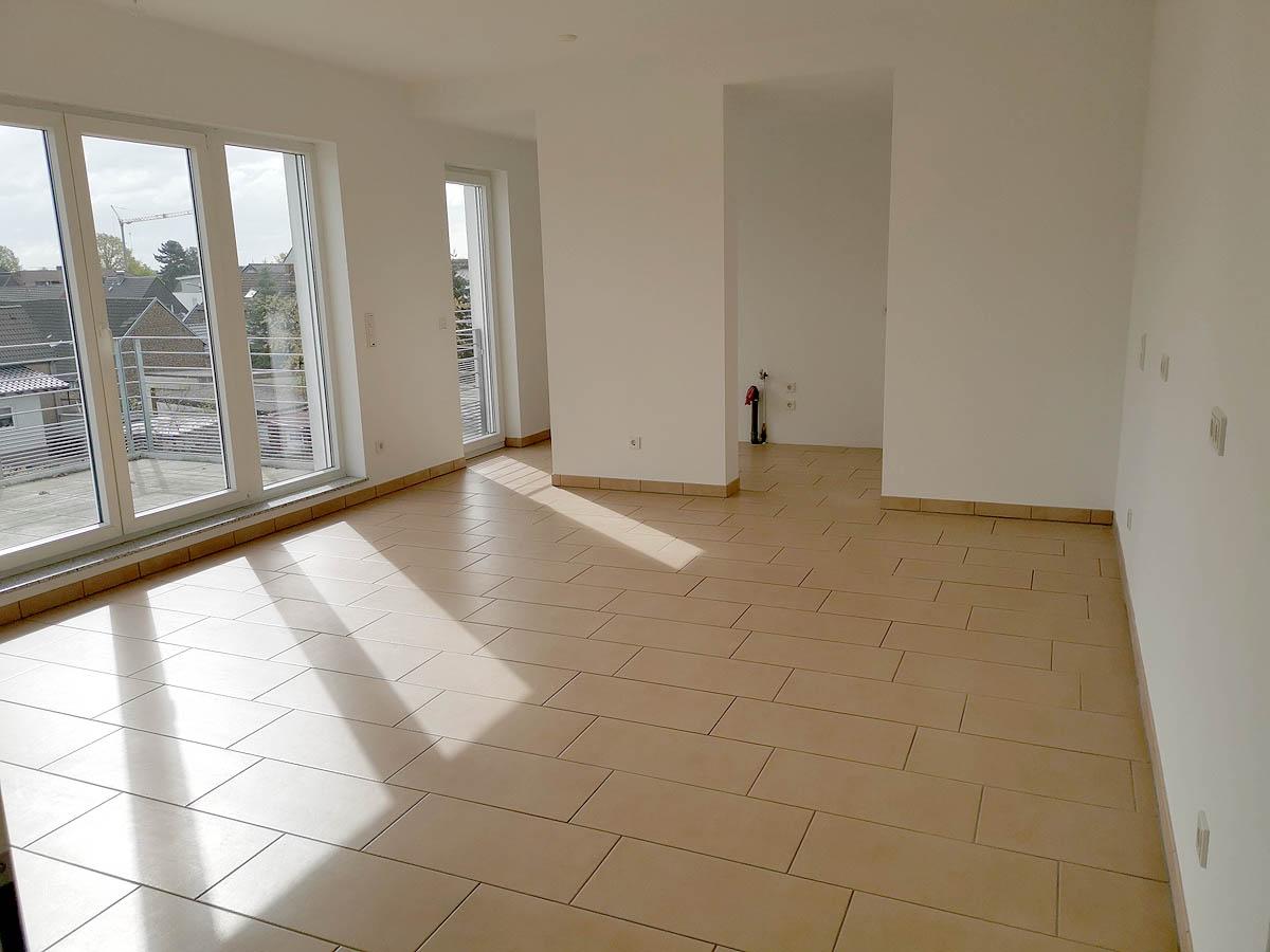 Wohnzimmer, 2-Zimmer-Mietwohnung Pulheim